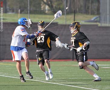 Penn Yan Lacrosse 4-17-12