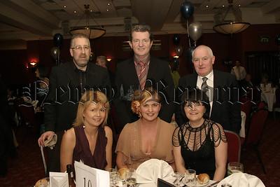 St Colmans College Dinner Dance, Micgael & Marie Mc Neill, Declan & Paula Strain and Mr & Mrs Thomas Gallagher. 06W08N51