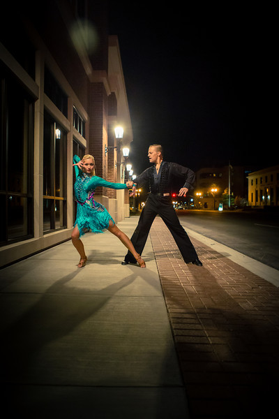 Nanette & Kyle (Latin Ballroom)