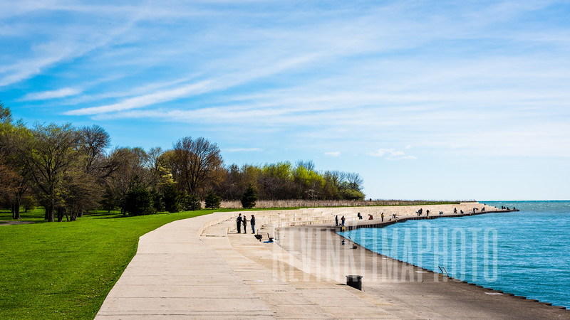 Montrose Harbor Lakefront