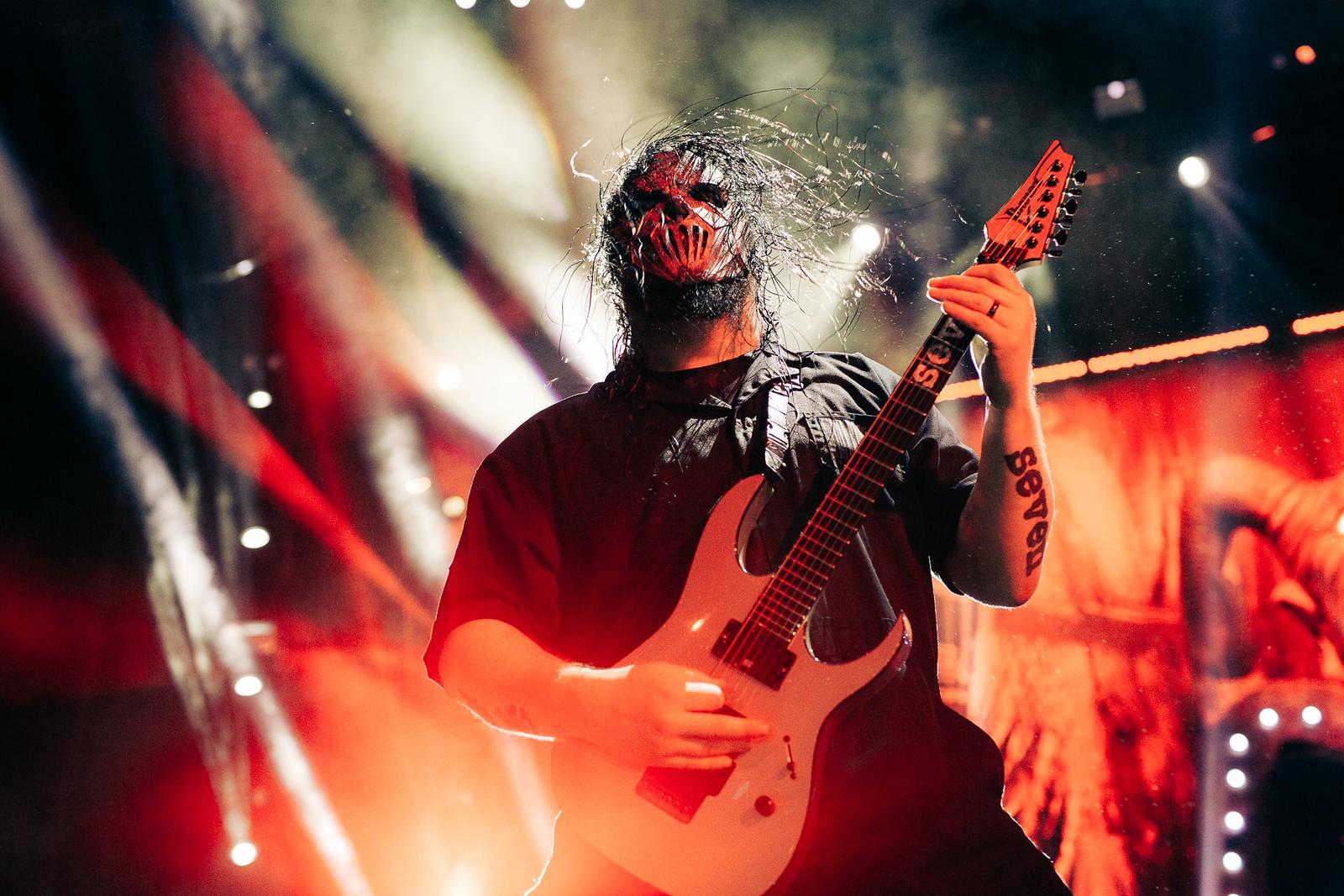 Mick Thomas of Slipknot by Adam Elmakias