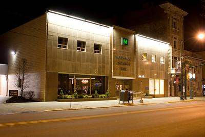 Northwest Savings Bank: Night photos No Snow or Lights 1-9-08