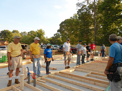 Habitat Build 2012