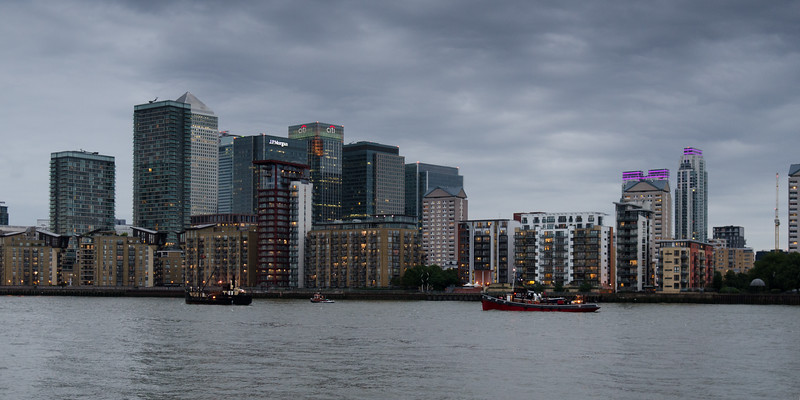 Boats at London's Docklands
