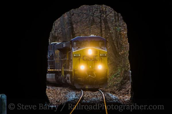 CSX Transportation Natural Tunnel, Virginia November 23, 2014