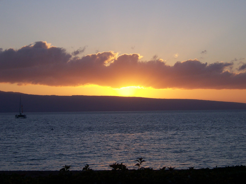 Good night, Maui...
