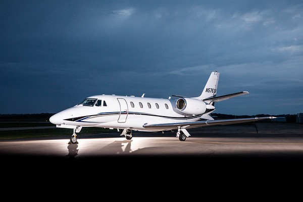 Citation XLS+ N576SA (High Res No Logo)