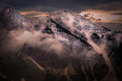 Bavarian and Austrian Alps