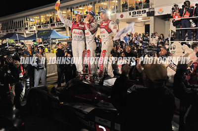 2012-03-17 FIA WEC ALMS 60th Annual 12 Hours of Sebring Dusk, Sunset & The Overall Winners