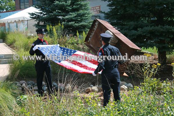 9/11/11 - Mason 9/11 Memorial Dedication