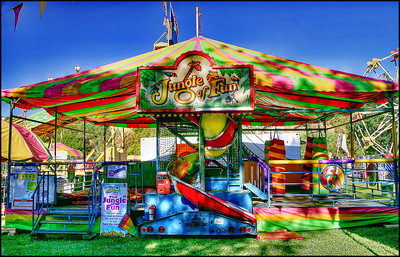 Mariposa County Fair 2012 - Setup