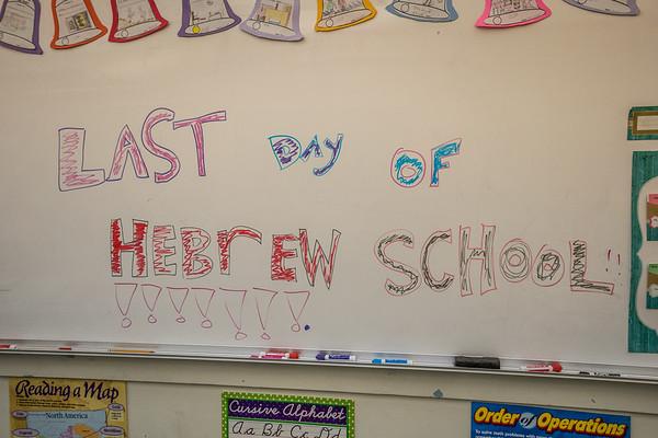 Hebrew School - End of Year Ceremony 6-3-18