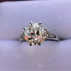 2.63ct Old European Cut Diamond Solitaire, GIA K VS2 13