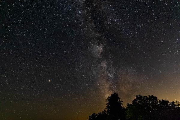 Door County Milky Way Galaxy Images