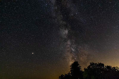 Door County Milky Way Galaxy Images