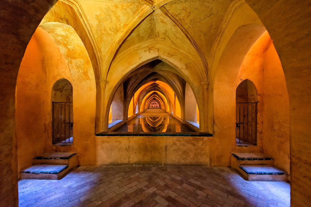 Royal Baths, Alcázar of Seville, Spain
