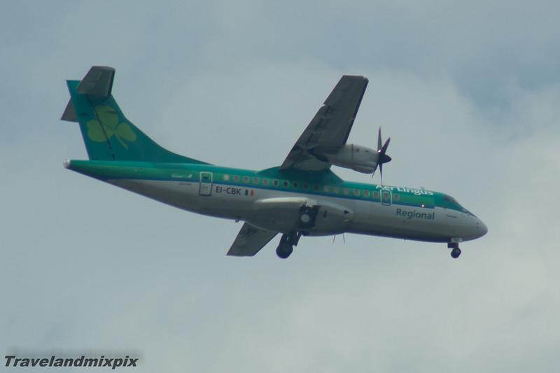 EI-CBK Aer Lingus Regional (Stobart Air) ATR 42-300 Glasgow Airport 08/05/2016