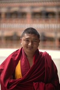 Images of Bhutanese Monks & Nuns