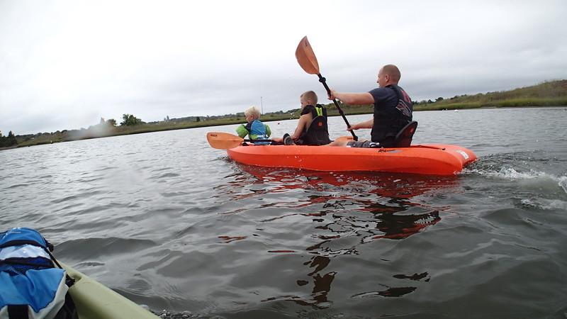 Gull Cove Kayaking in Rain