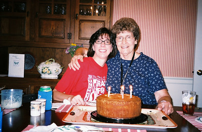 Mom's 74th Birthday - 2007