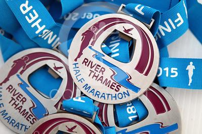 River Thames Half Marathon 2015