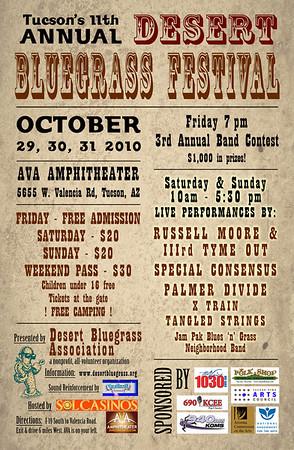 Bluegrass Event Art Work