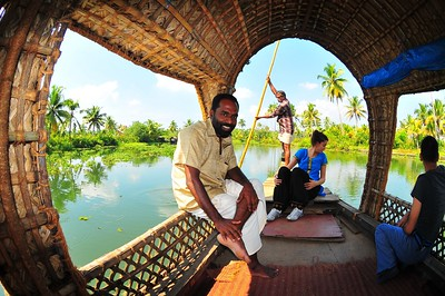 Backwater River Ride, Kottayam, India