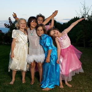 Octavia's First Pyjama Party, 2009.