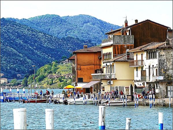 Peschiera Maraglio  e Sulzano (Brescia - Iseo Lake)