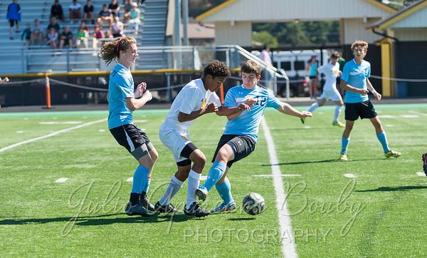 140913 NBHS Boys Soccer vs St Mary's