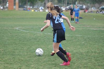 u15 Weston Girls Regions Cup 031112