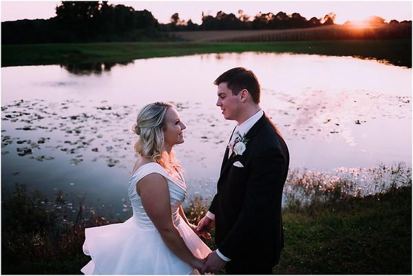 Christie & Scott | White Barn Wedding Social