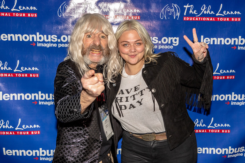 2019_01_26, Anaheim, CA, Imagine Party, NAMM, Elle King, Derek Smalls