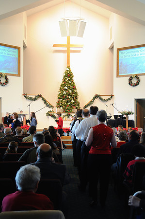 Dec. 18, 2011 Worship/Cantata Service