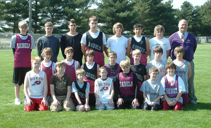 SNMS Track Team 2005