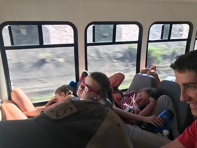 Eighth Grade Green River trip 2018
