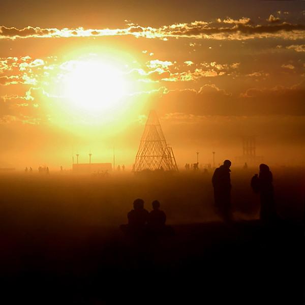 Sunrise, Burning Man 2007