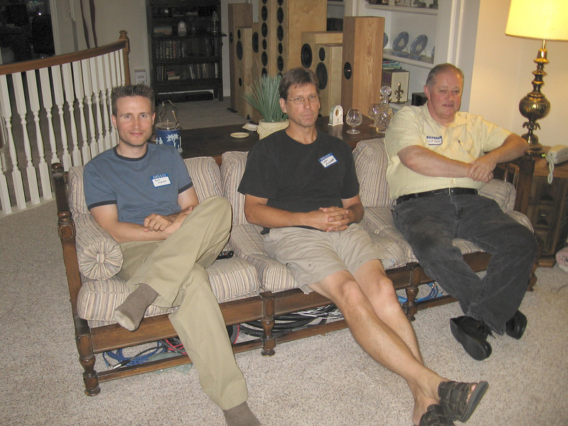 L to R: Paul Jackson, Tom Richards, Skip Pack