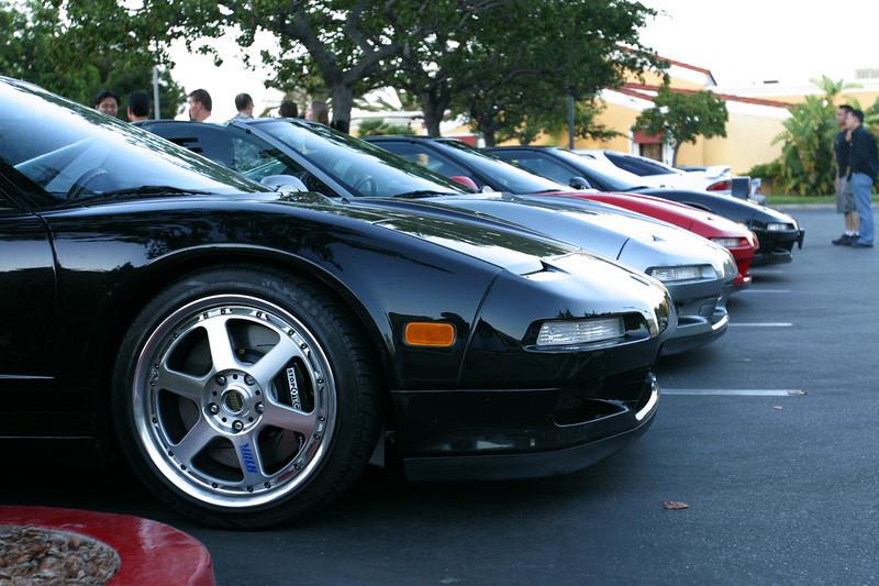 2003 08/21: CalCoastal NSX Group Dinner in Santa Monica