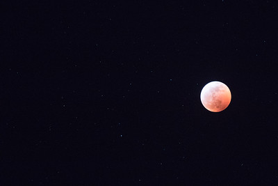 Jan. 20, 2019 Eclipse of Super Blood Wolf Moon