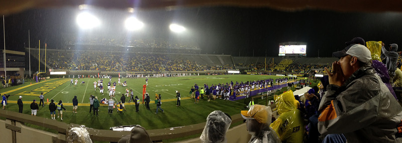 9/29 UTEP Panoramic from the press box side during the 4th quarter JG
