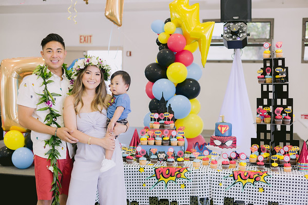 Topher's 1st Birthday (Event Photos + Photo Booth)