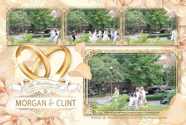 Morgan and Clint Wedding