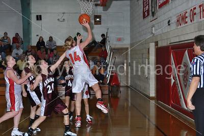 La Moille-Ohio VS Annawan Girls Basketball, Nov. 22, 2010