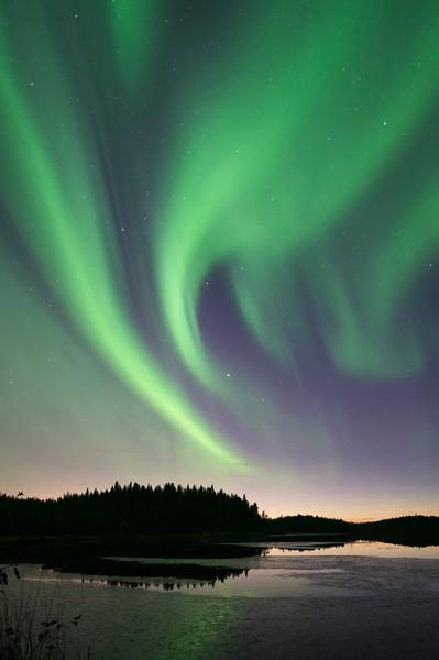 Aurora Borealis at Kalimenlampi II