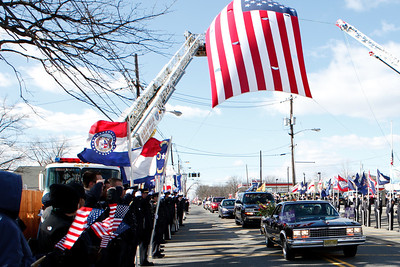 Funeral for Colonia Marine Kevin James Reinhard