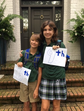 First Day of School 2020-2021