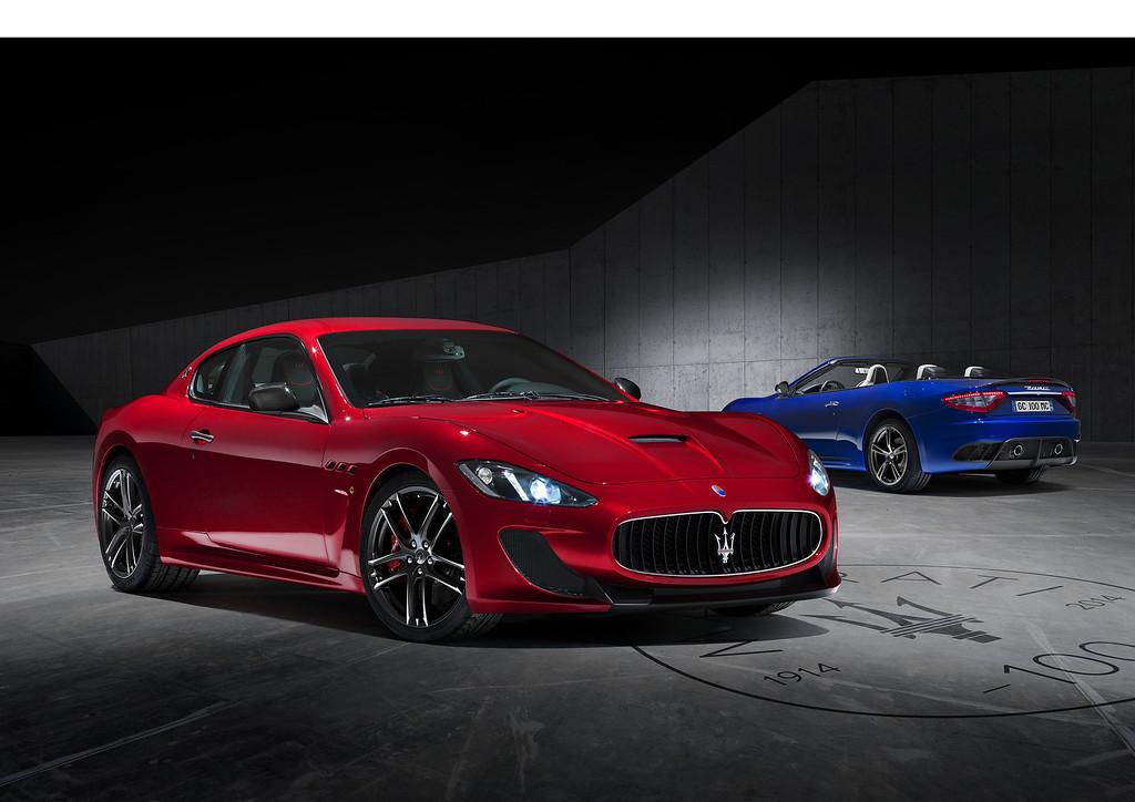 . Maserati GranTurismo MC Centennial Edition @ NY Auto Show www.Maserati100.com.  (PRNewsFoto/Maserati)