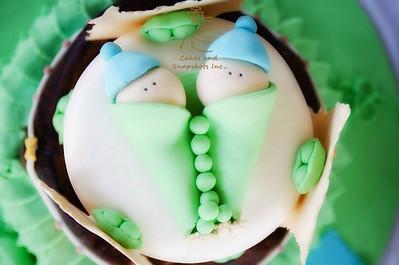 Peas in a pod Cake