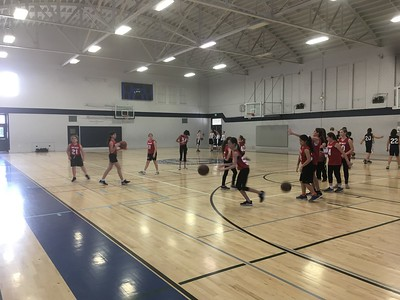 WVMS Basketball vs Hillbrook 2018